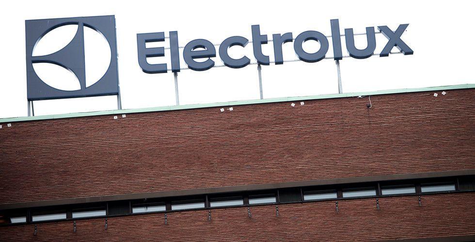 Investor ökar i Electrolux