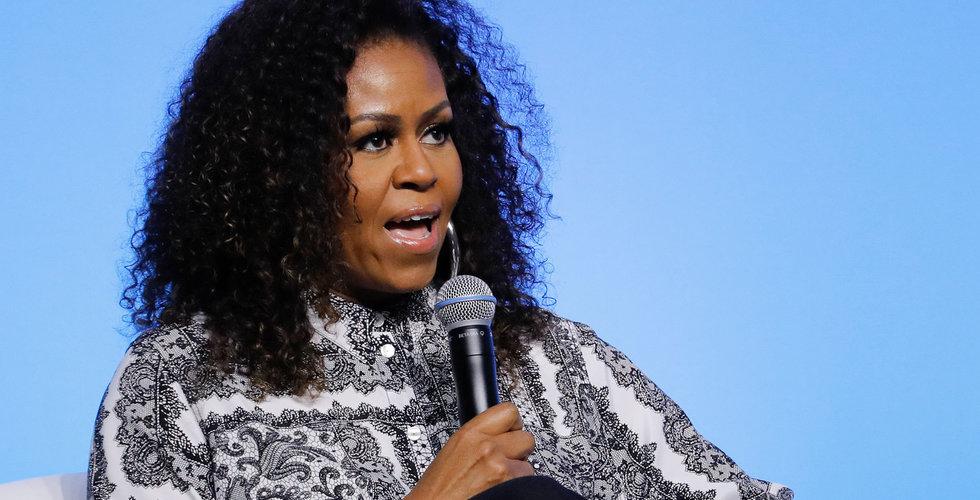 Michelle Obama släpper podd på Spotify
