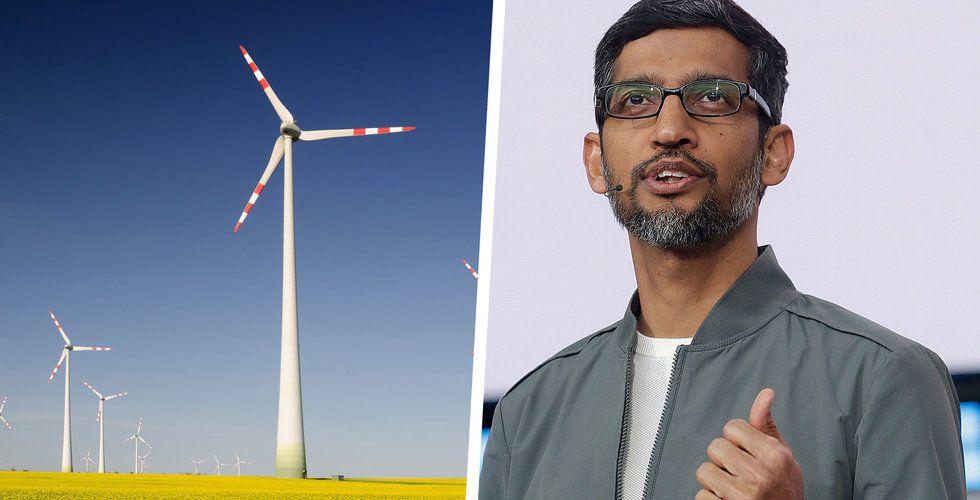 Google gör jätteinvestering i svensk vindkraft