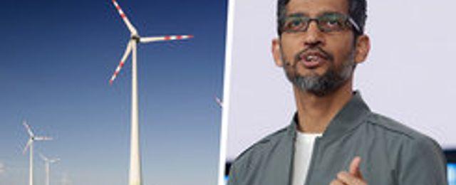 Alphabet gör största köpet av förnyelsebar energi hittills