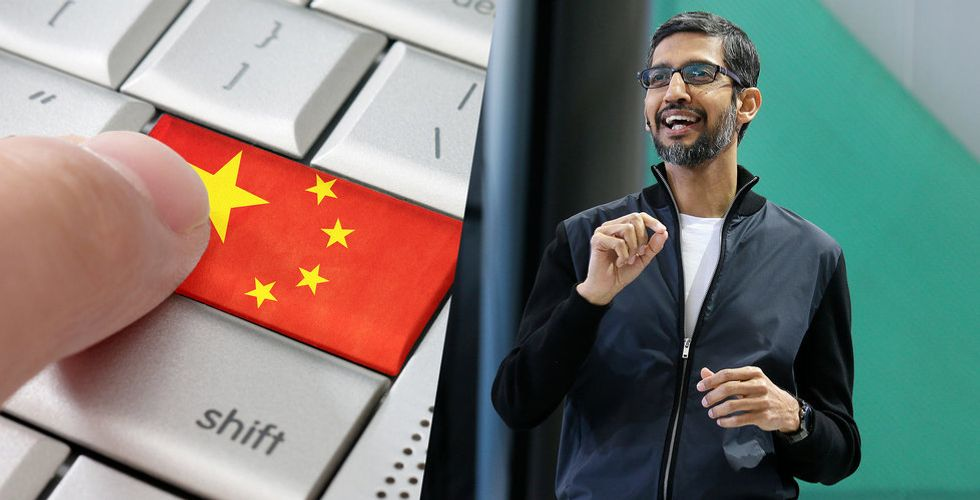 Google inte nära lansering av sökmotor i Kina enligt vd:n