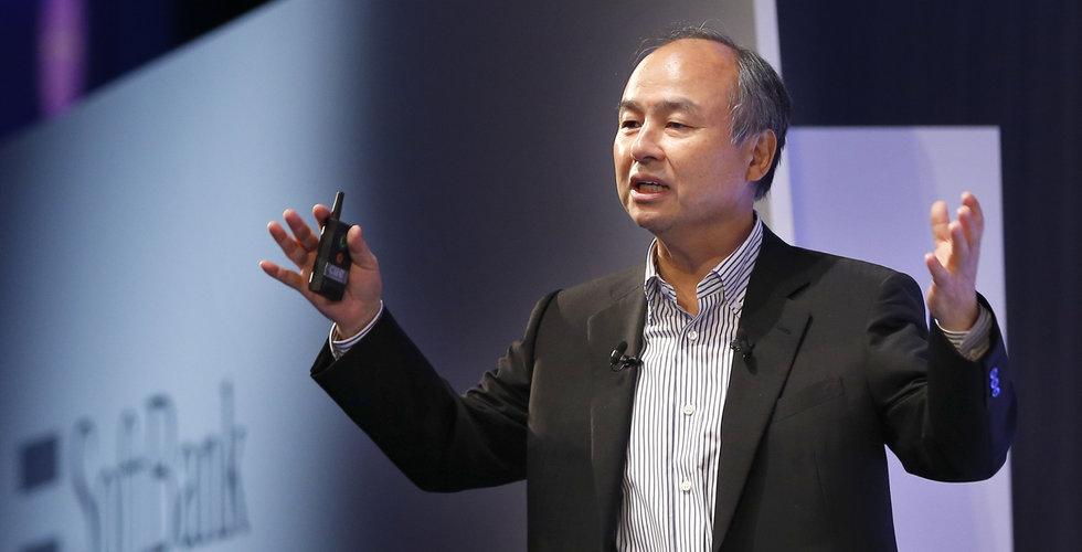 Softbank har köpt för miljarder i Amazon