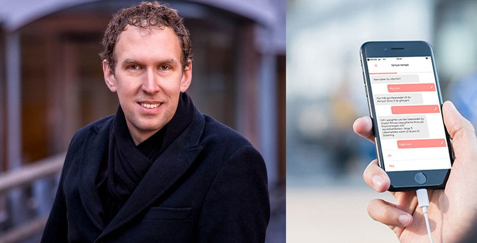 """Doktor24:s AI-bot ska vinna vårdkriget – """"Bygger bort den mänskliga faktorn"""""""
