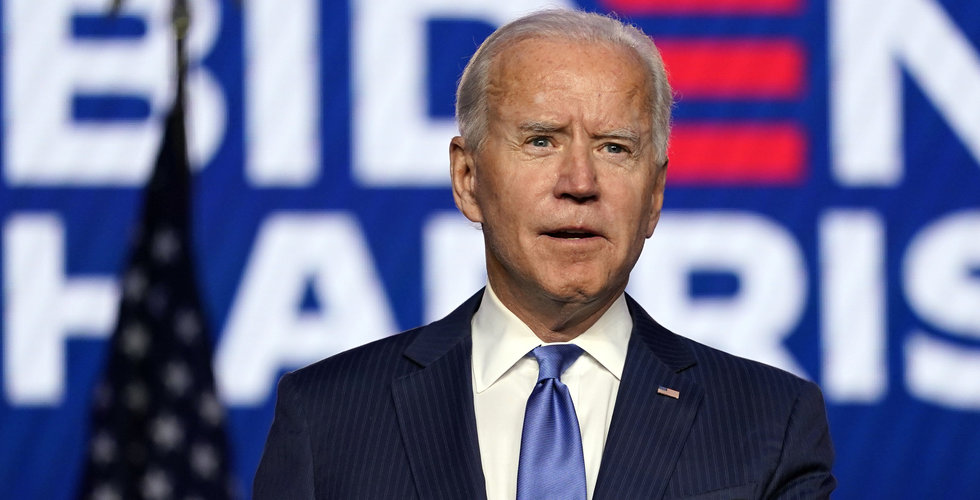 Joe Biden blir USA:s president