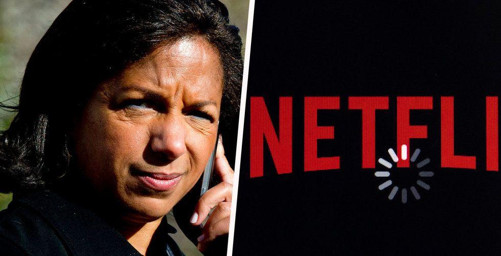 Netflix utökar styrelsen med tidigare FN-ambassadören Susan Rice