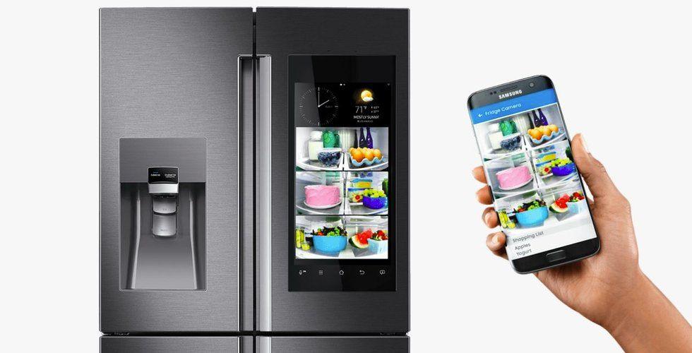 Här är Samsungs nya smarta kylskåp – som du kan prata med