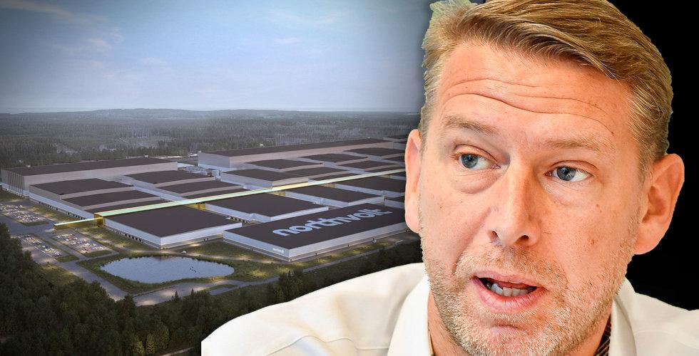 Östersund och Umeå inte längre aktuella för Northvolts batterifabrik