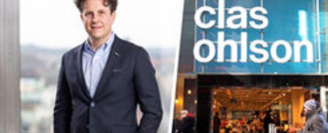 Clas Ohlsons försäljning sjönk i december – rusade online