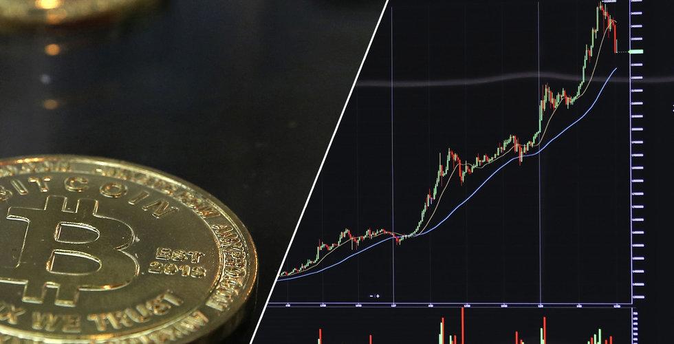 Bitcoin har handlats över 39 000 dollar för första gången på sex veckor