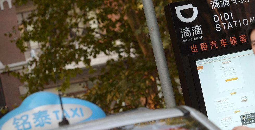 Taxiapp i Kina stoppas – efter att kvinna blivit mördad