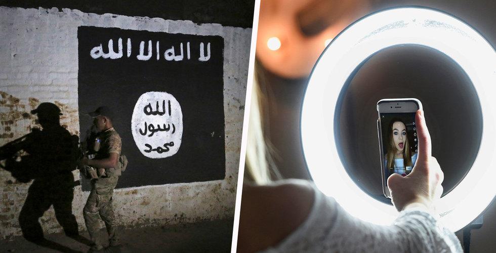 Islamiska staten försöker rekrytera på Tik Tok