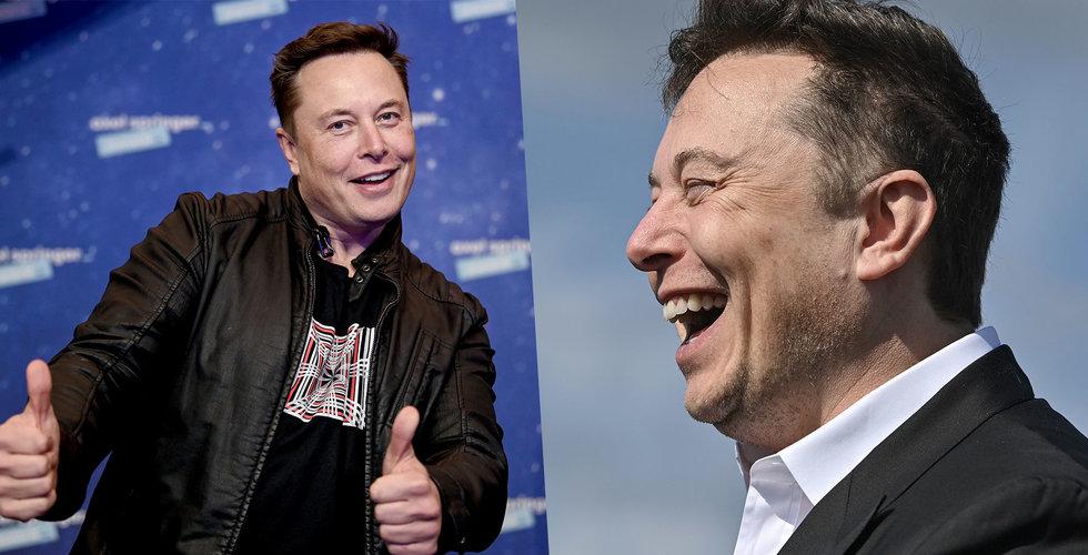 Elon Musks raderade tweet: Så snart är vi större än Apple