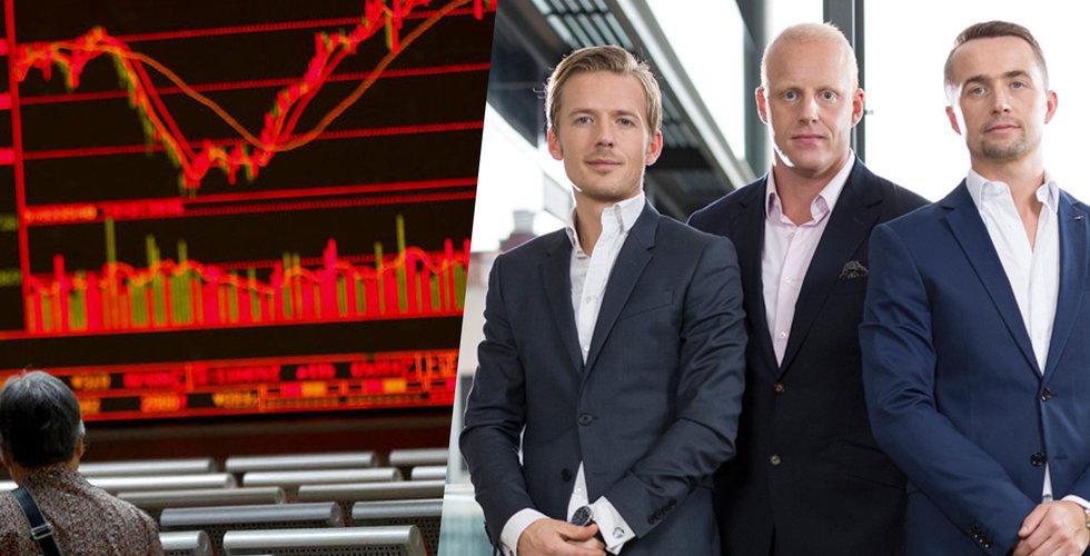 Kasino-miljardärernas nya startup lånar 80 miljoner – ska sluka heta finans-domäner