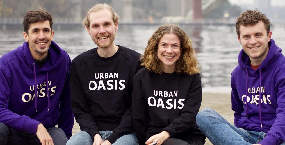 Urban Oasis fyller kassan med 10 miljoner – ska bygga megafarm mitt i Stockholm