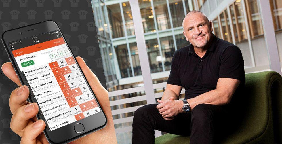 Breakit - Tommy Jacobson kliver in i social bettingapp för fotbollsfans