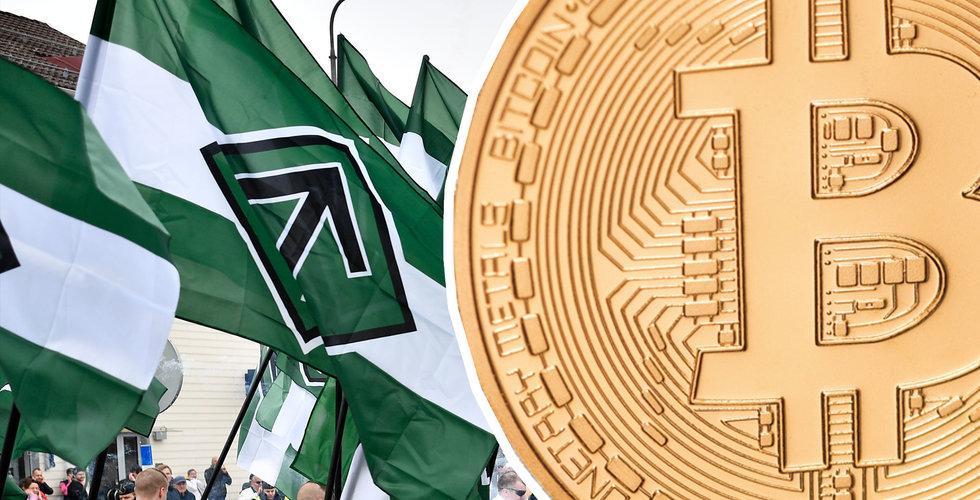 Nazistiska Nordiska motståndsrörelsen finansieras med bitcoin
