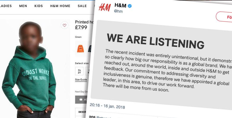 Breakit - H&M tillsätter tjänst inom mångfald efter reklammissen