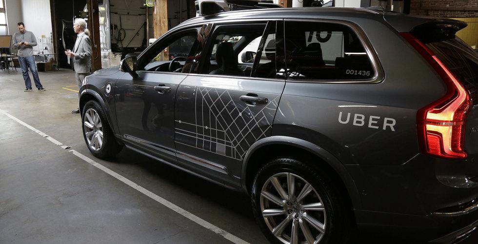 Volvo och Uber klara med självkörande produktionsbil