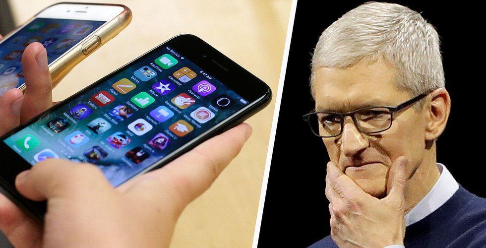 """Apples ursäkt i natt: """"Förstår om ni är besvikna"""