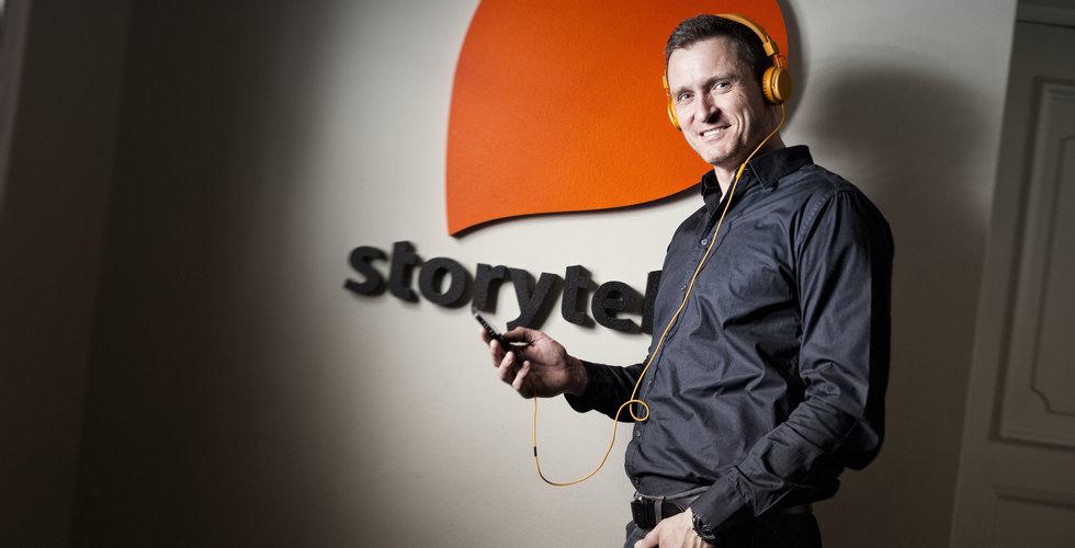 Storytels streamingintäkter uppgick till 517 miljoner kronor under Q1