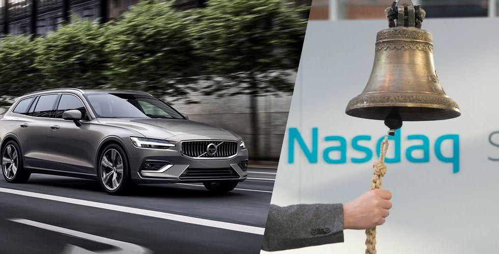 Volvo Cars uppges fortskrida med börsnoteringsplaner