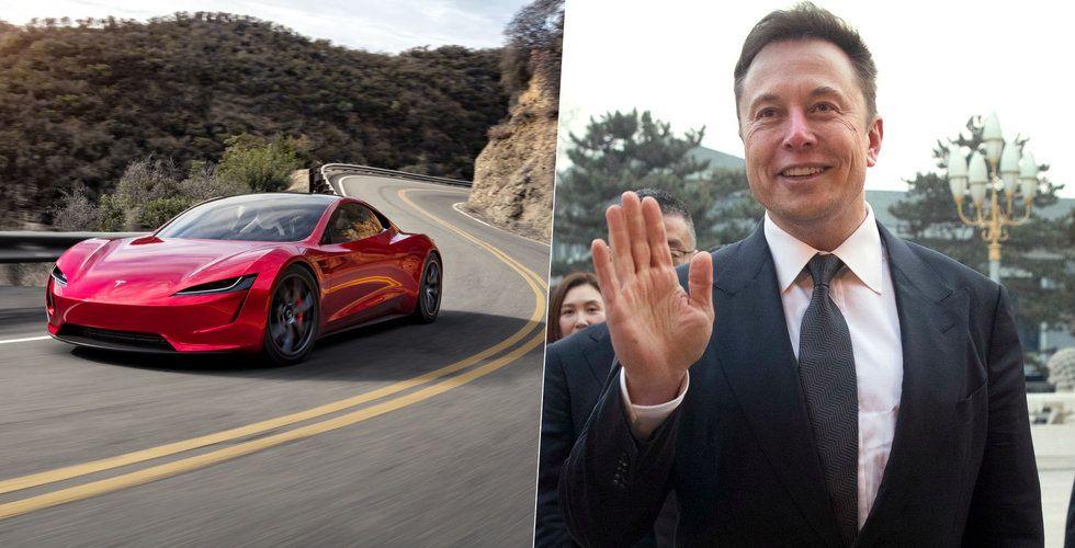 Elon Musk: Nya Teslan kan komma att sväva