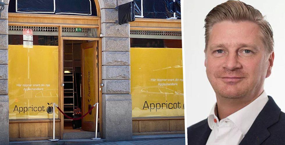 Digital Inn gick i konkurs – nu ska Ambia sälja Apple-prylar genom Appricot Life