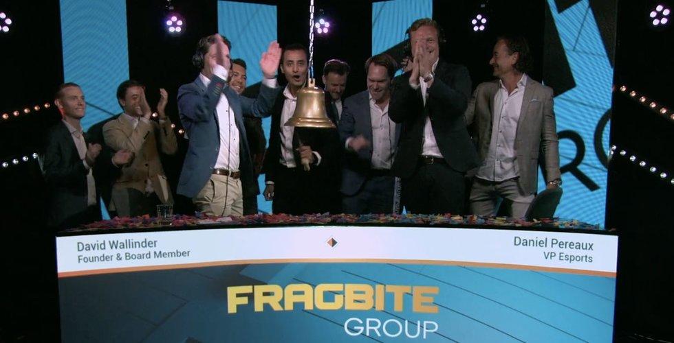 Fragbite Group handlas upp i premiären