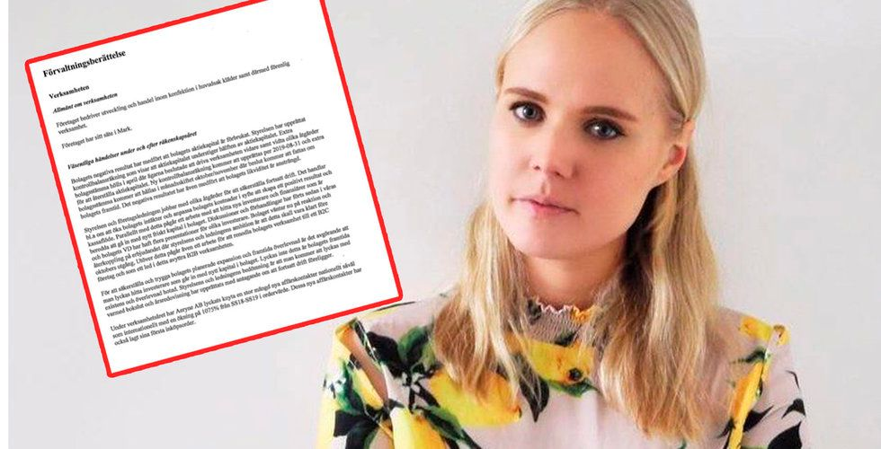 Svenska modestartupen Aéryne i konkurs