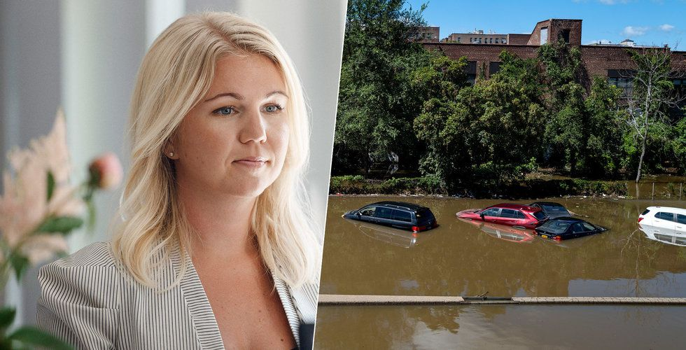 "Natural Cycles-grundaren hårt drabbad av USA-stormen: ""Forsade in vatten"""