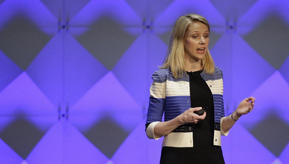 Lönen för att behålla chefen i Yahoo - 154 miljoner kronor