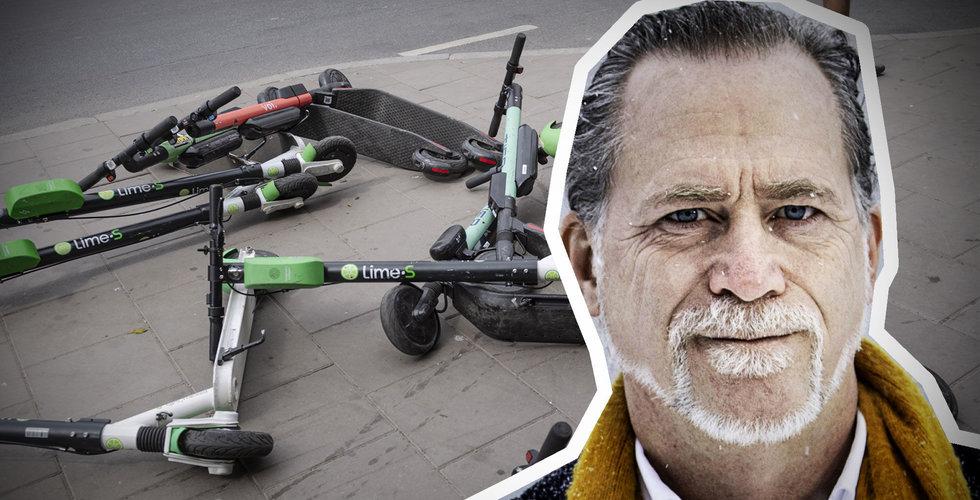 Maxtak ska tvinga fram minskning av elsparkcyklar i Stockholm