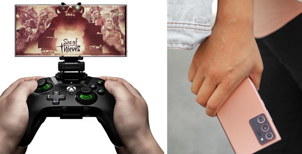 En kraftfull gamingdator i fickan? Därför älskar spelnördarna nya Samsung Galaxy Note20 Ultra 5G