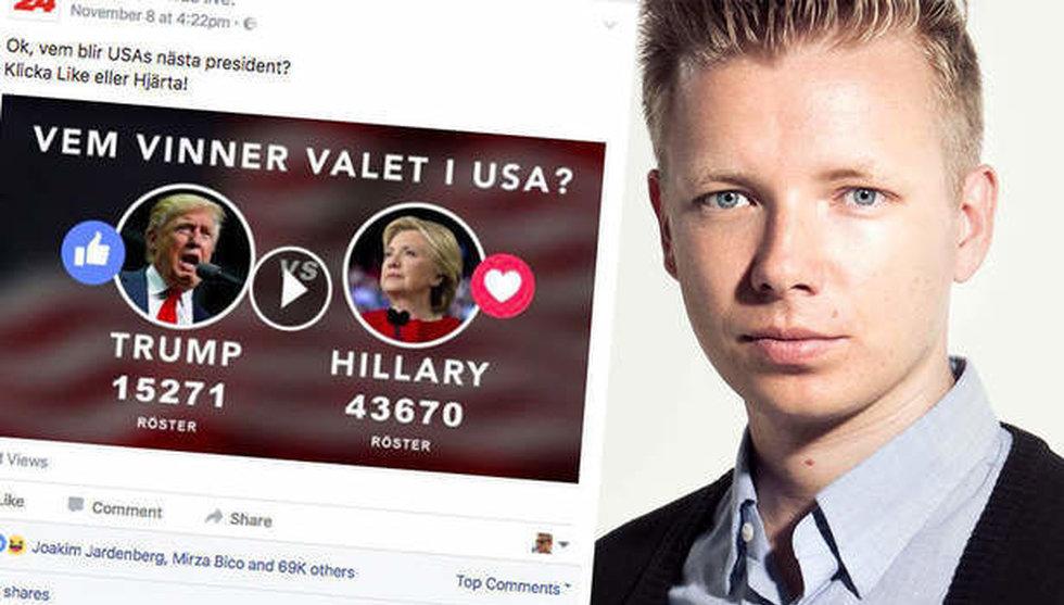 Breakit - Virala liveundersökningarnas tid är över - Facebook sätter stopp