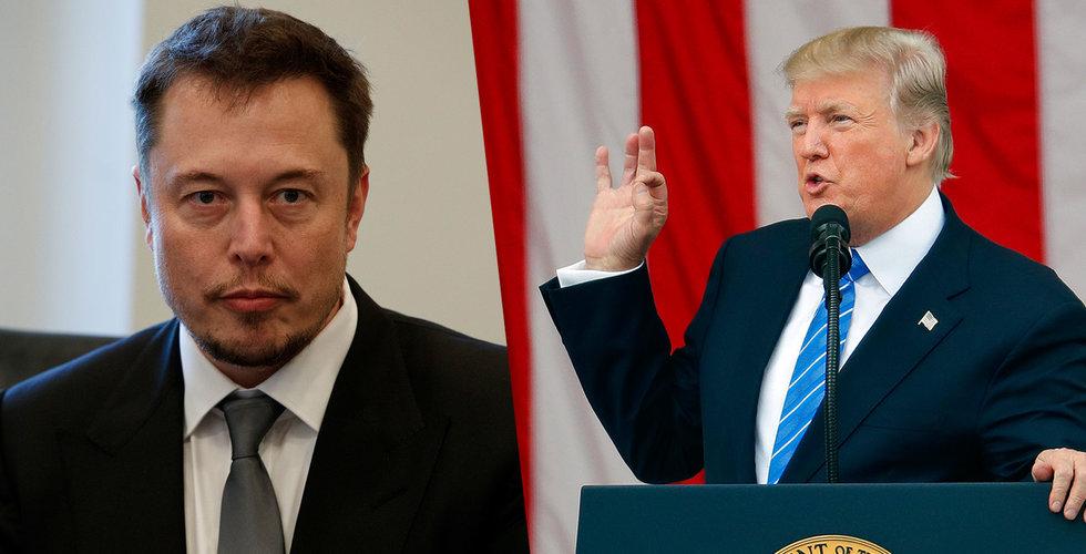 """Breakit - Elon Musk pressar Trump – """"Har inget annat val än att avgå"""""""