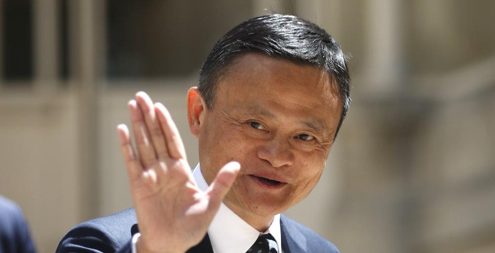 Alibabas grundare Jack Ma inte längre Kinas rikaste