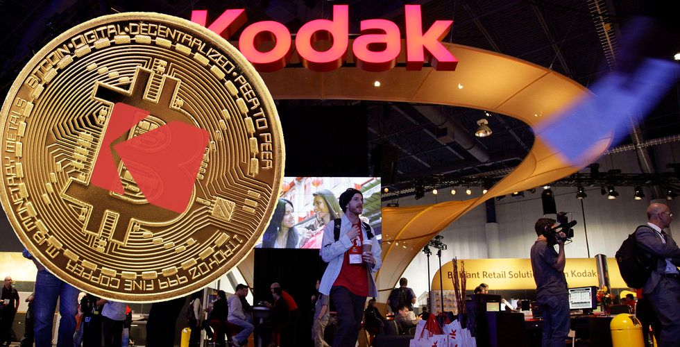 Kodak rusar på börsen – planerar egna kryptovalutan Kodak Coin