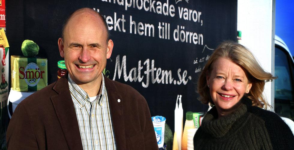 """Breakit - Mathem slukar Sveriges största fruktkorg: """"Gör oss starkare"""""""