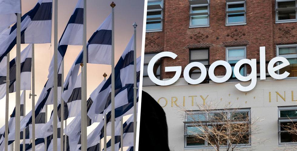 Google investerar 600 miljoner euro i nytt datacenter i finska Fredrikshamn