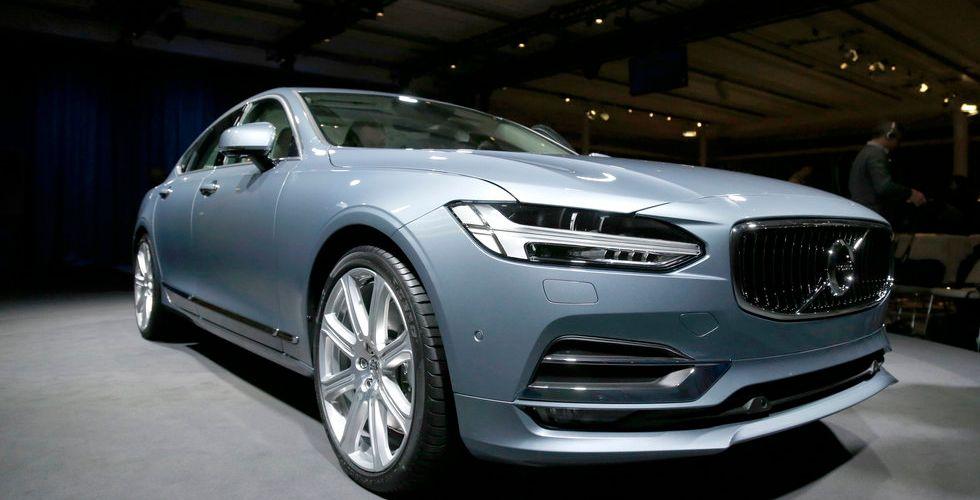 Volvo storsatsar på test för självkörande bilar i Storbritannien