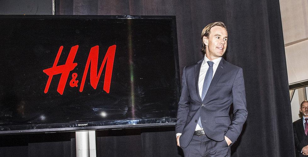 SEB sänker återigen riktkursen för H&M till under hundralappen