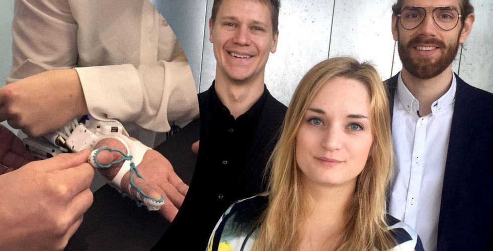 Tendos robothandske ska hjälpa sjuka – får in miljoner