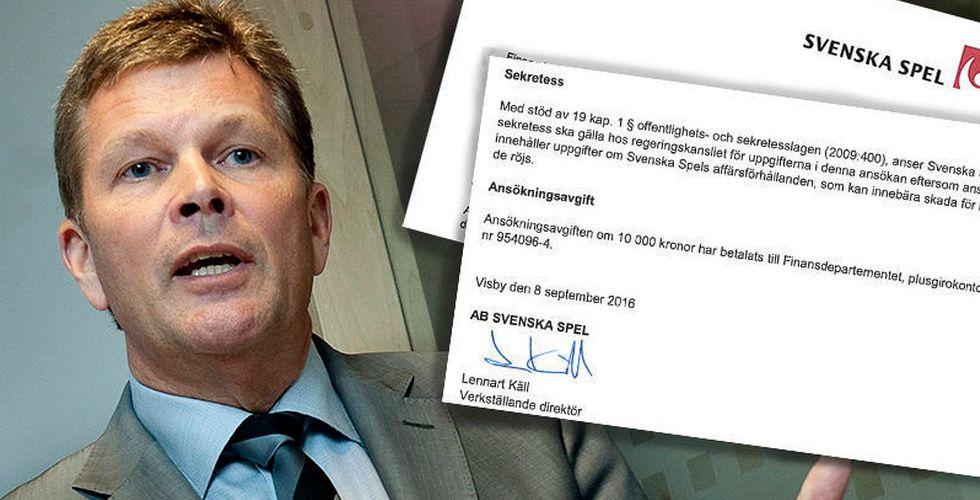 Svenska Spels nödrop för att möta de utländska nätjättarna