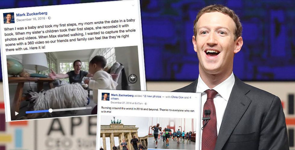 Varför rattar tolv personer Mark Zuckerbergs Facebook-konto?