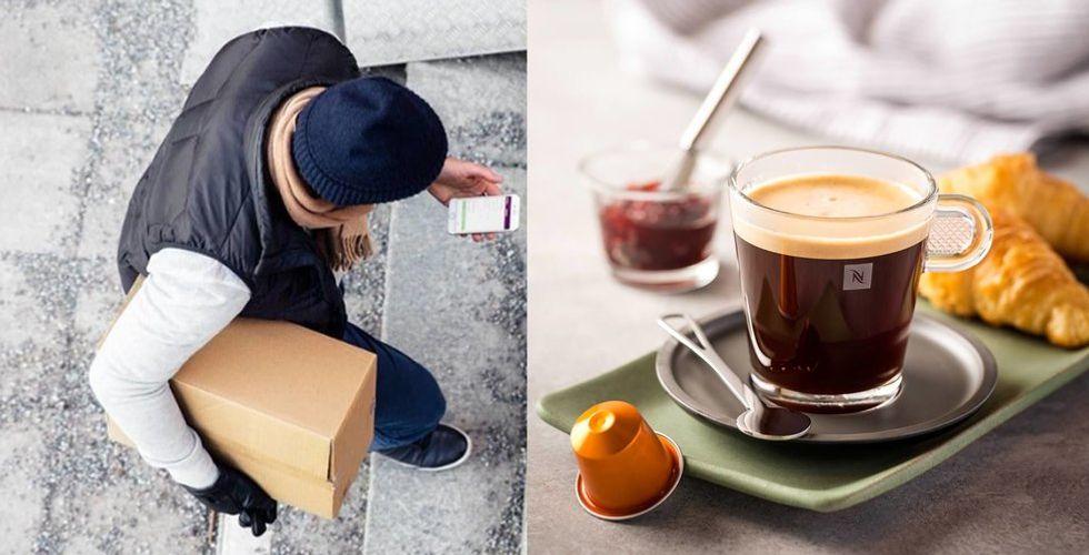 Breakit - Budbee i samarbete med Nespresso