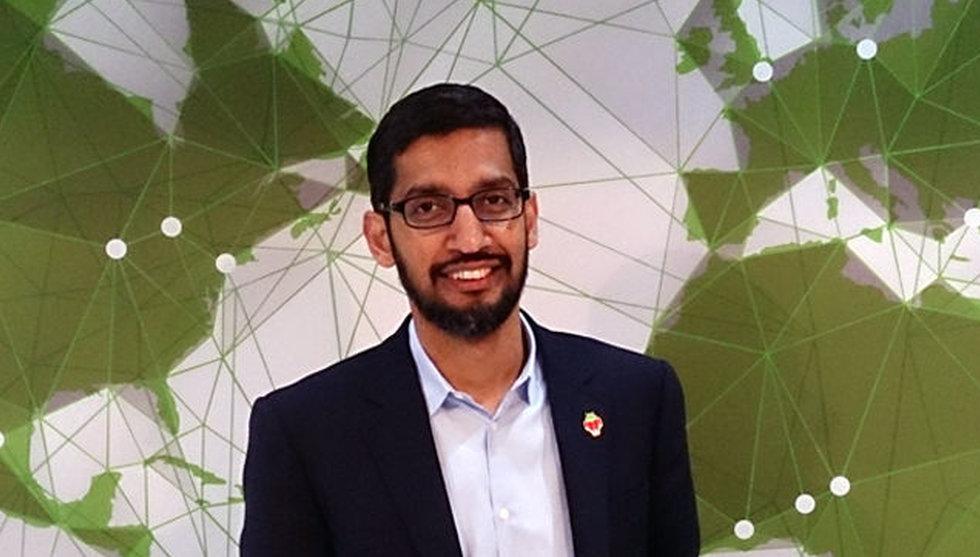 Breakit - Google byter namn till Alphabet - Sundar Pichai tar över vd-posten