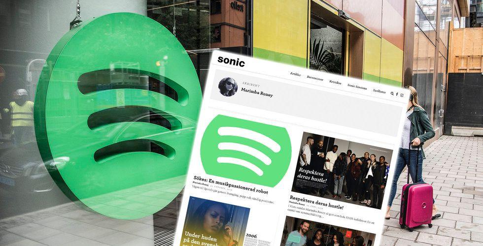 Marimba Roney sökte jobb på Spotify – bloggar om pepp-testet hon mötte