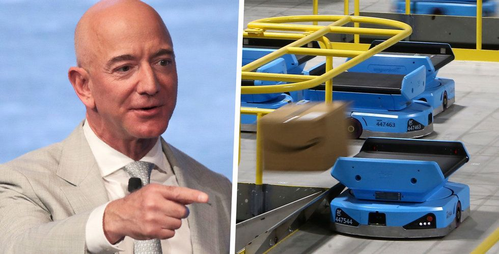 Amazons robotlager har gett fler skador – inte färre