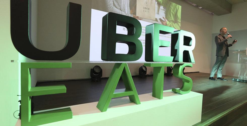 Uber eats ska lanseras i ytterligare 100 städer
