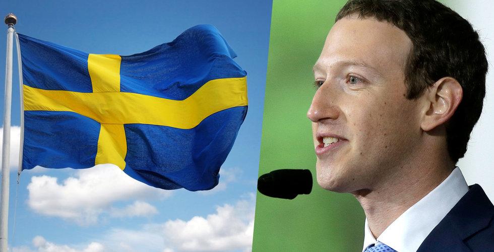 Facebooks svenska omsättning: Mer än 2 miljarder 2018